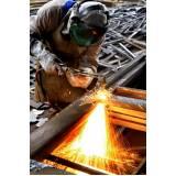 Corte de Aço Inox